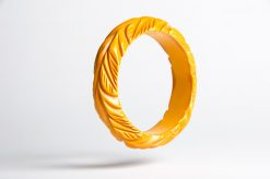 yellow_bakelite_leaf_bangle2
