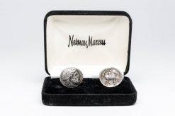 nieman marcus roman coin cufflinks1