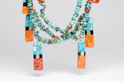 turquoise coral necklace2