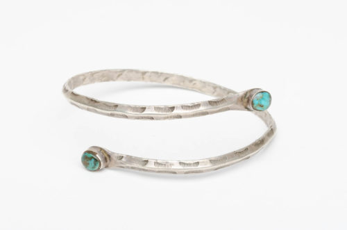 turquoise silver arm band1