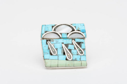 turquoise silver rain clouds rimothy bailon ring1