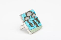 turquoise silver rain clouds rimothy bailon ring2