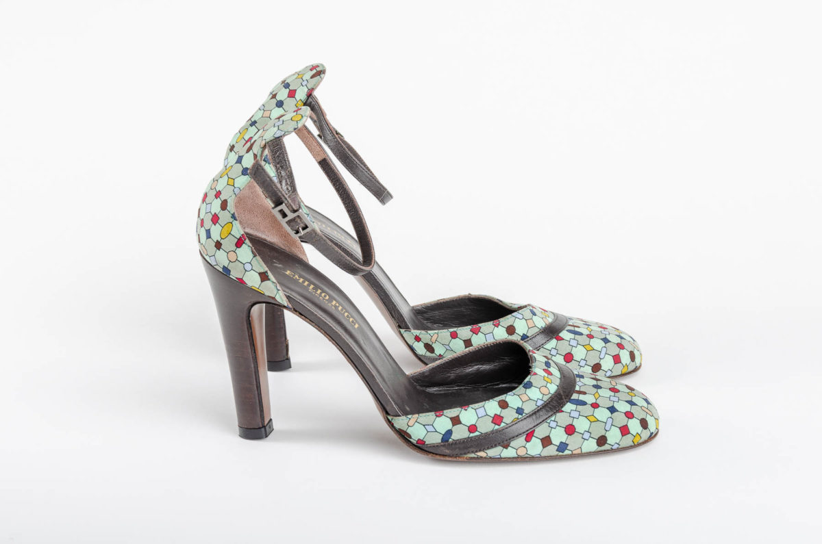 cb89f23f9962 Emilio Pucci Heels - Double Take of Santa Fe
